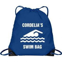 Cordellia's swim bag