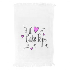cake pop towel
