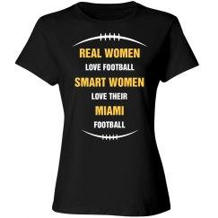 Smart women love Miami football