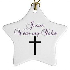 Jesus wear my yoke