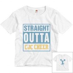 Straight Outta CJC Cheer Camp Shirt