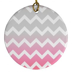 Pink Gradient Chevron