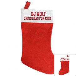 CHRISTMAS FOR KIDS OFFICAL STOCKING