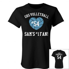 Sam's #1 Volleyball Fan