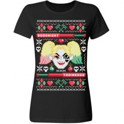 Harley Quinn Ugly Sweater Tee