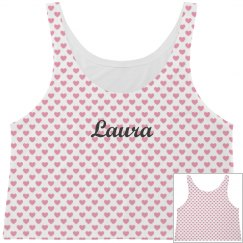 All Over Print Hearts Tank Top