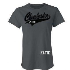 Cheerleader Name Tee