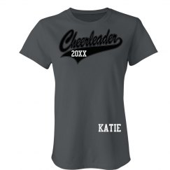 Cheerleader Name Tee