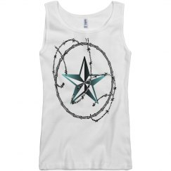 Barbed Wire Nautical Star