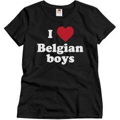 I love Belgian boys!