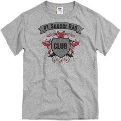 #1 soccer dad club