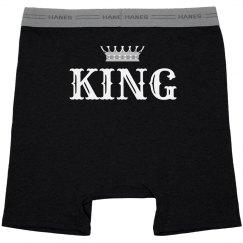 King & Queen Couple Underwear