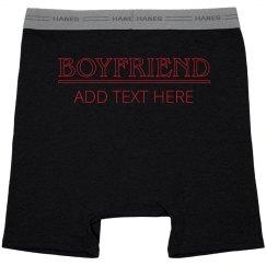 Trendy Matching Couple Underwear