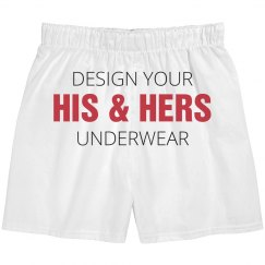 Design His & Hers Underwear