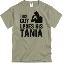 This guy loves his tania