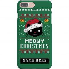 Meowy Christmas Case
