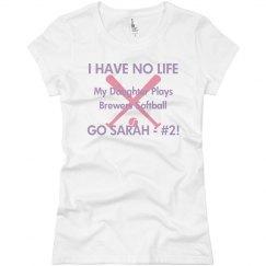 No Life Softball Mom