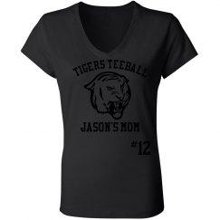 Tigers Teeball Mom