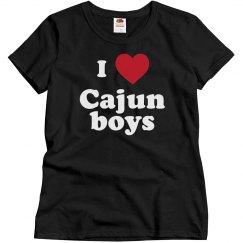 I love Cajun boys!