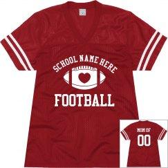 Custom Football Mom Jerseys