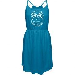 Peaceful Owl Jr. Dress