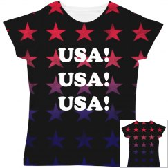 USA All The Way All Over Print
