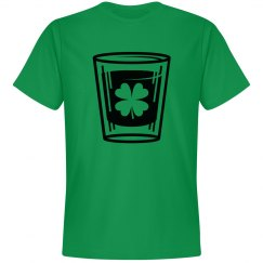 st. pattys shot glass tee