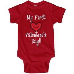 First Valentine's Day Baby