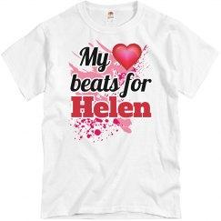 My heart beats for Helen