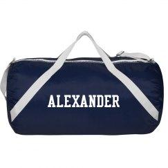 Alexander sports bag