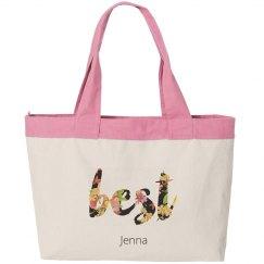 Best Bitches Floral Bag