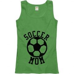 Soccer Mom Ladies Tank Top
