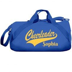 Cheerleader custom cheer  bag