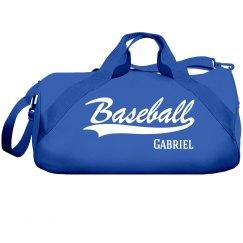 Gabriel's Baseball Bag