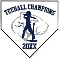 Teeball Champions