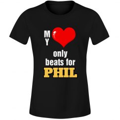 Heart beats for Phil