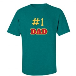 #1 Number One Dad