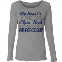 heart belongs to an air force guy