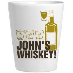 John's Shot Glass