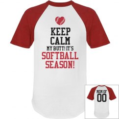 Baseball Mom Short Sleeve