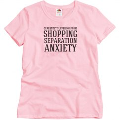 Shopping anxiety