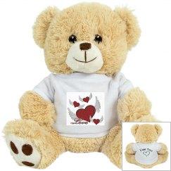 Love Hearts Small Teddy