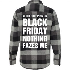 Black Friday Shoppers Flannel