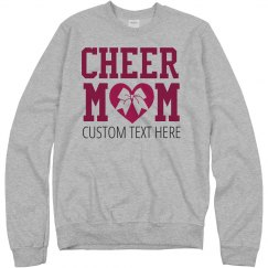 Custom Cheer Mom Bow