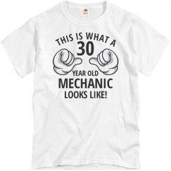 30 year old Mechanic