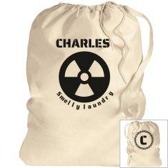 CHARLES. Laundry bag