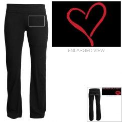 AAGH Black Yoga Pants