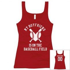 Custom Girlfriend Baseball Shirt
