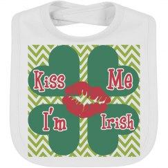 Kiss me Irish Infant bib