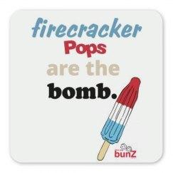 Firecracker pops magnet